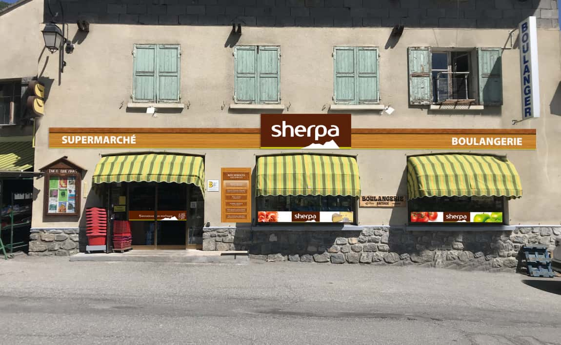 Supermarché Sherpa Abries