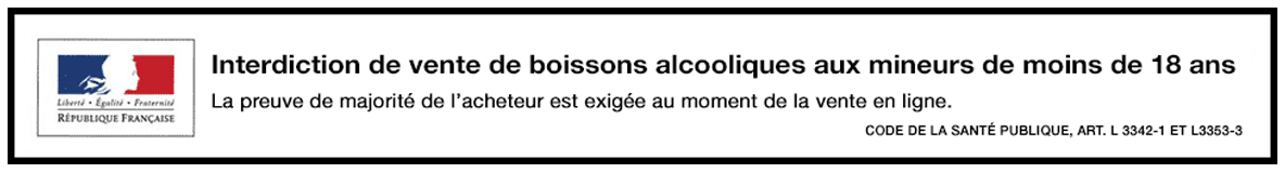 Vente d'alcool interdite aux moins de 18 ans